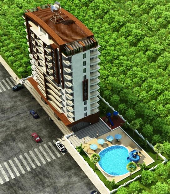 OP500 Bay IV Apartments, Off Plan Project Mahmutlar - 4