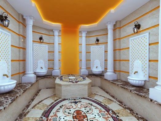 Bay Construction Mahmutlar Pent Villa Private Hamam