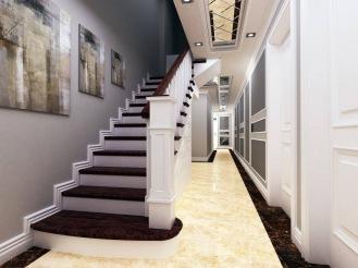 Bay Construction Mahmutlar Pent Villa Duplex Staircase