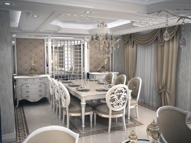 Bay Construction Mahmutlar Pent Villa Dining Room