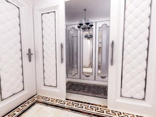 Bay Construction Mahmutlar Pent Villa Dressing Room