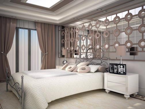 Bay Construction Mahmutlar Pent Villa Bedroom