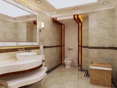 Bay Construction Mahmutlar Pent Villa Bathroom