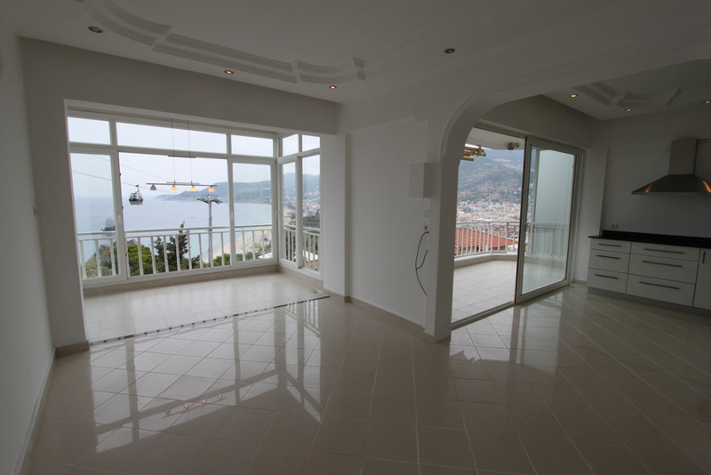 Alanya Castle Apartment with panoramic views of the coast [REF AGSAL898]